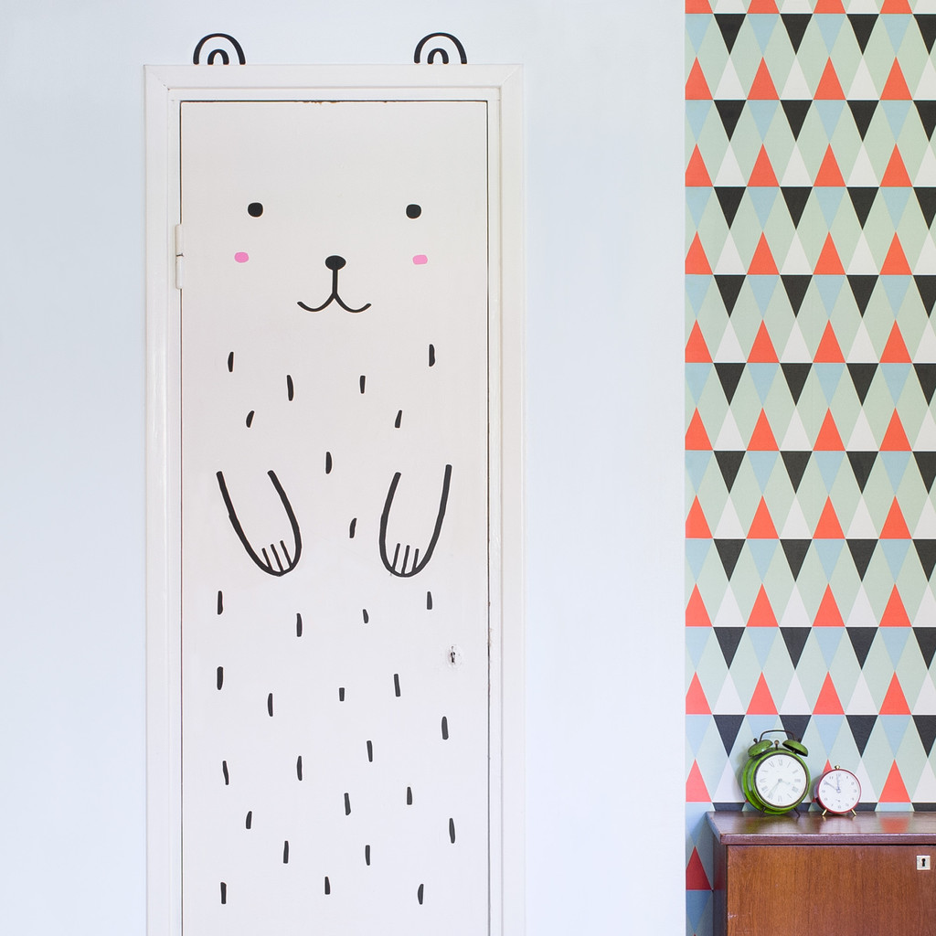 Kids Bedroom Door a simple way to decorate a kids bedroom: door decals | be a fun mum