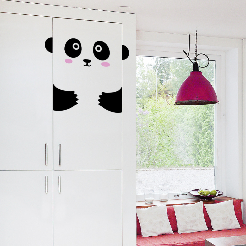 Door Decals - Panda
