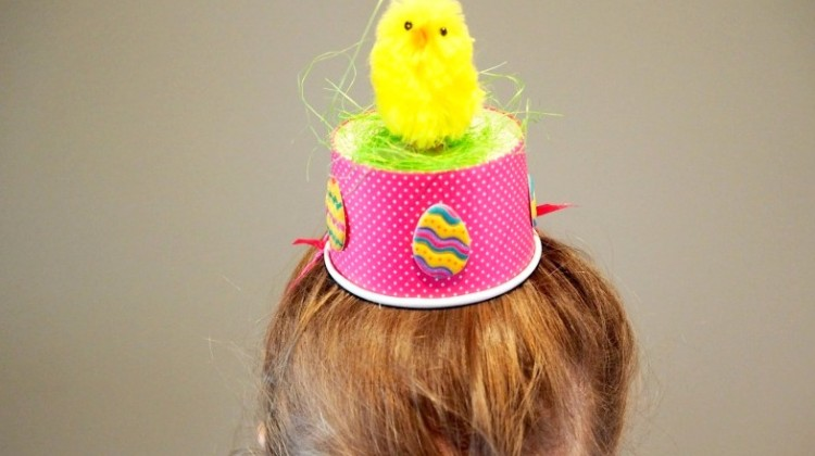 Three Last Minute Easter Hat Ideas