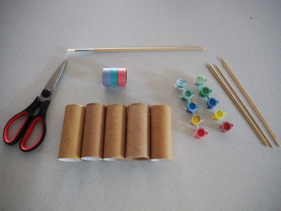toilet roll craft materials