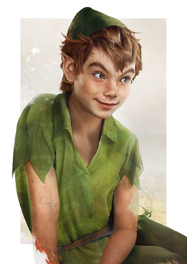 Peter Pan by Jirka Väätäinen