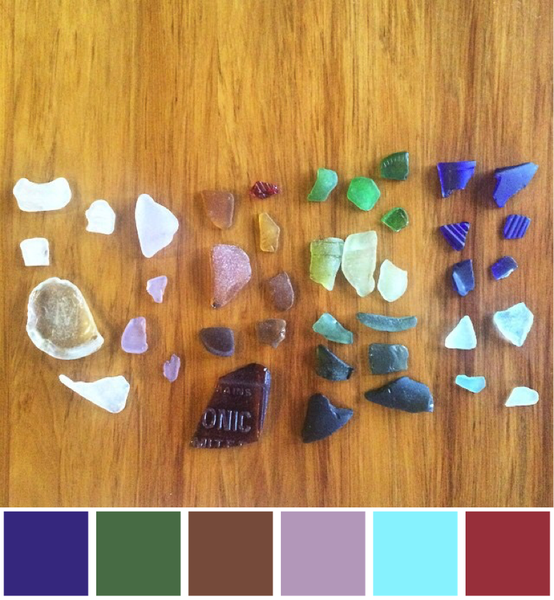 Sea Glass colours