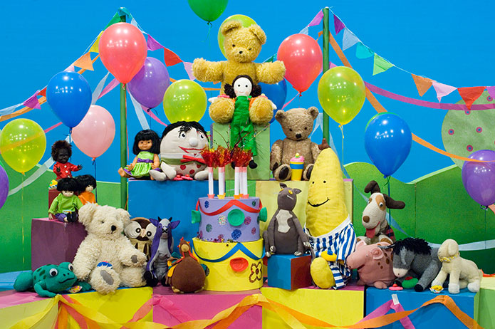 Toys are part of the family. Image © Australian Broadcasting Corporation 2016