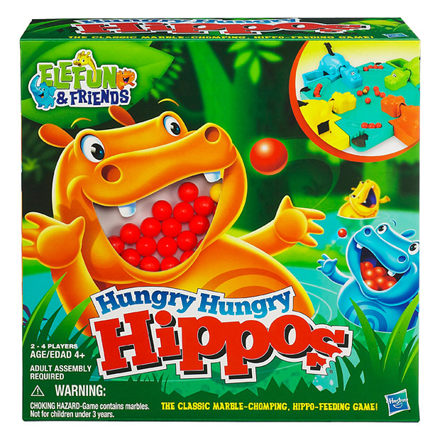 Family Board Games - Hungry Hungry Hippos