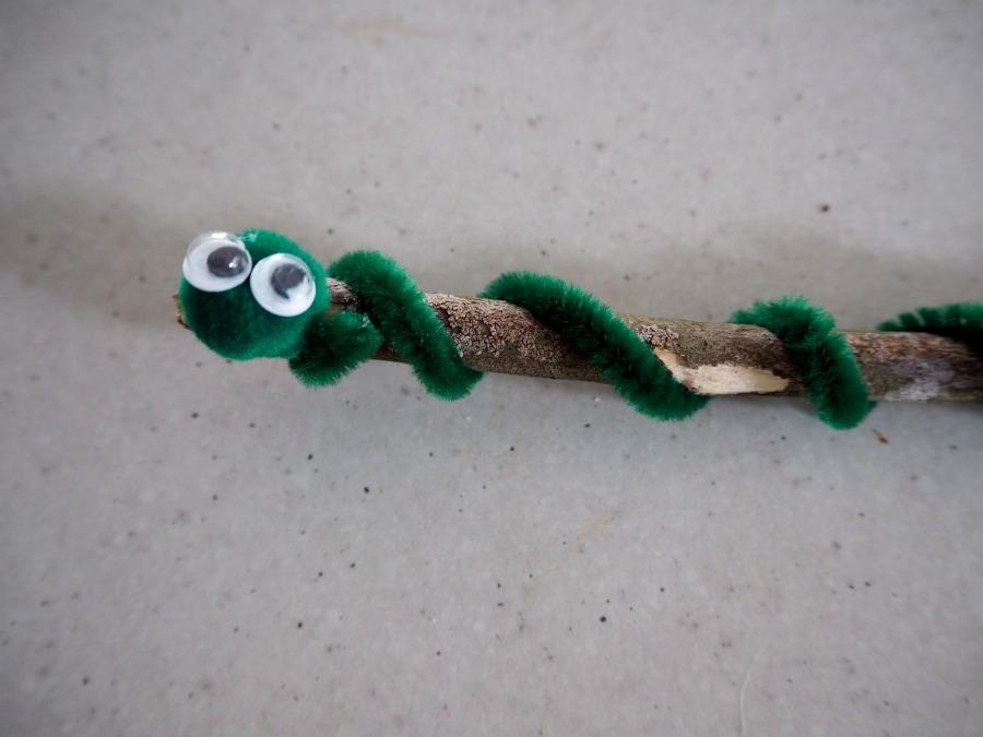 snake on a stick