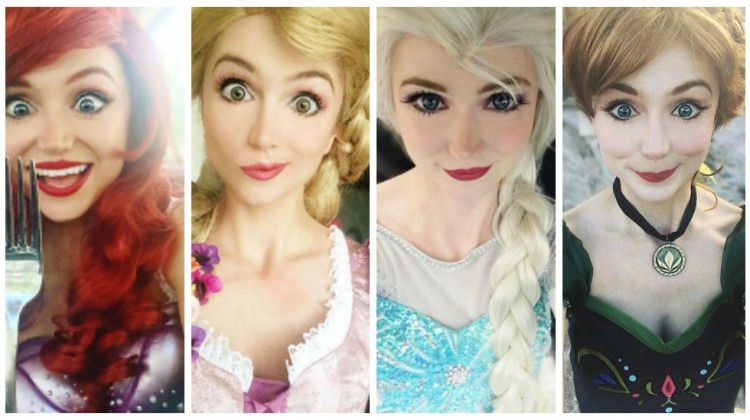 real life disney princess costume