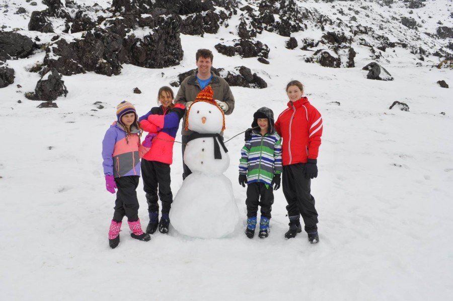 How to build a snowman - the best way
