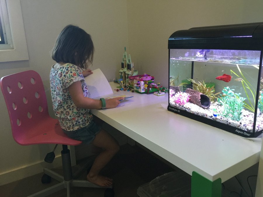 Review of ikea s new p hl desk a desk that grows with your kids be a fun mum - Kids desk chair ikea ...