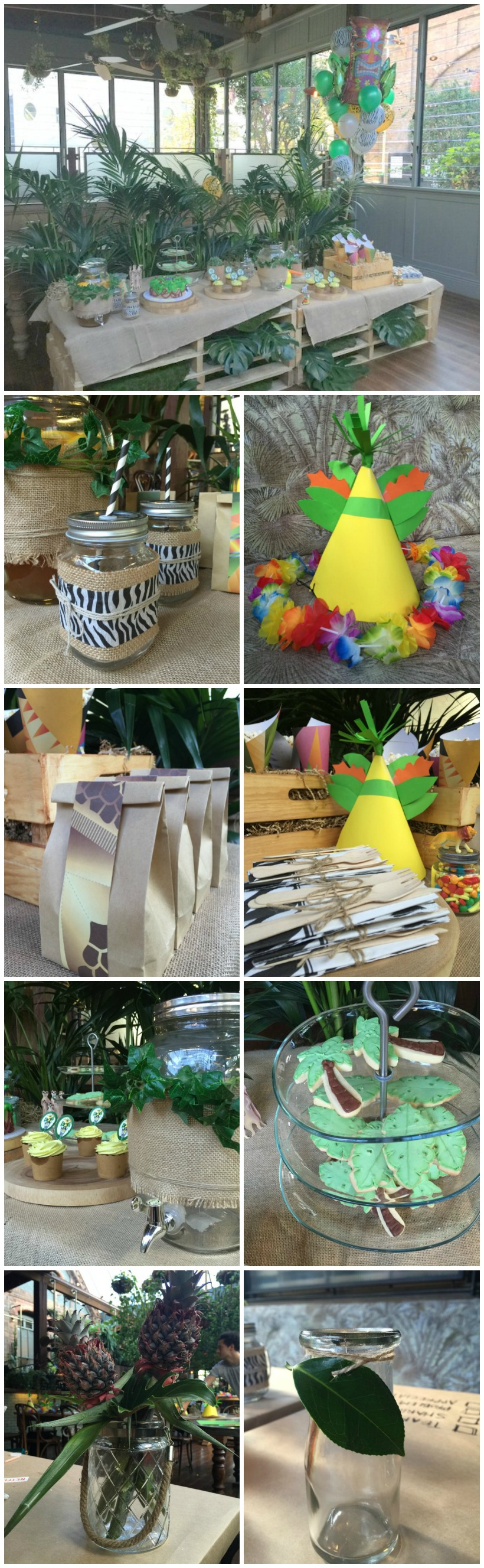 Madagascar/King Julien Themed Birthday Party