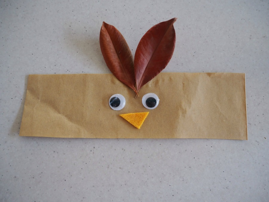 brown paper bag animal crowns