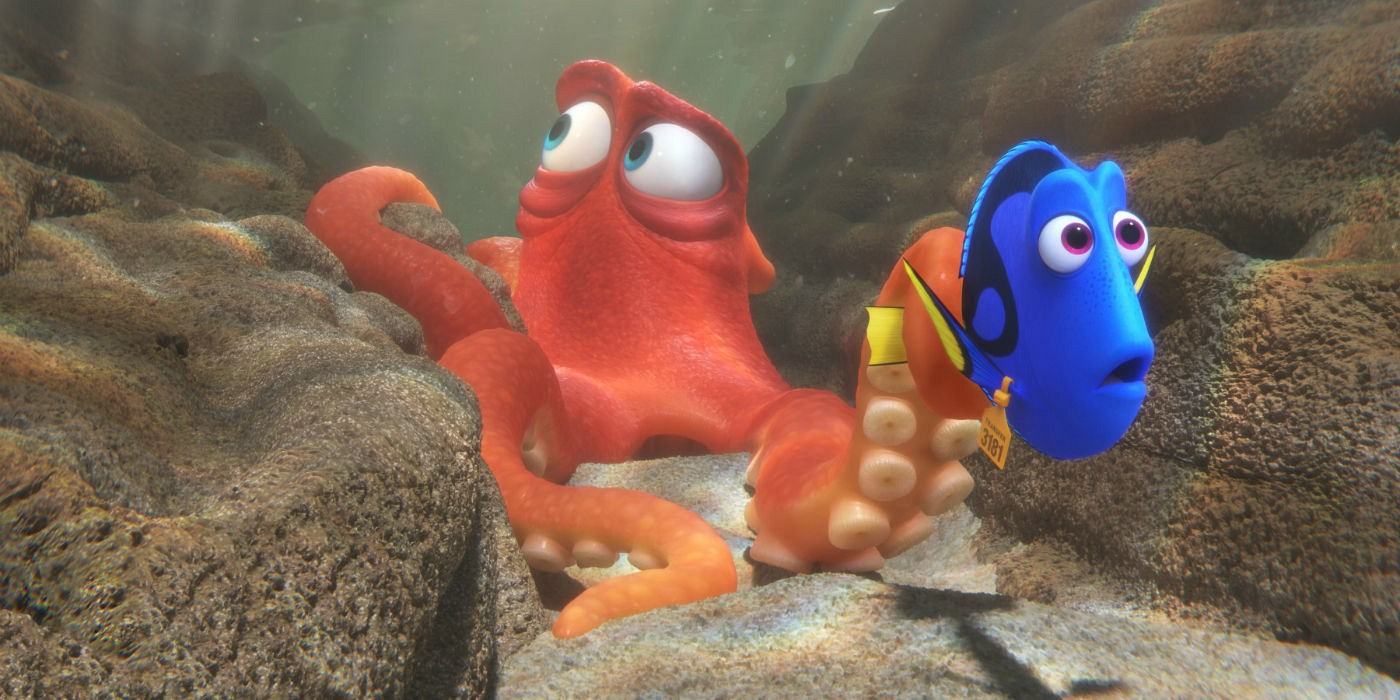 Hank from Finding Dory - Giant Pacific Octopus