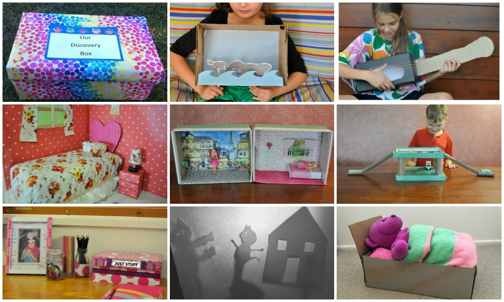 fun things to do with a shoe box