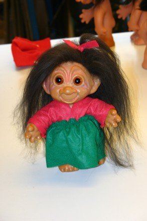Rubber Troll Doll by Thomas Dam from the late 1950's via DamWorld.com
