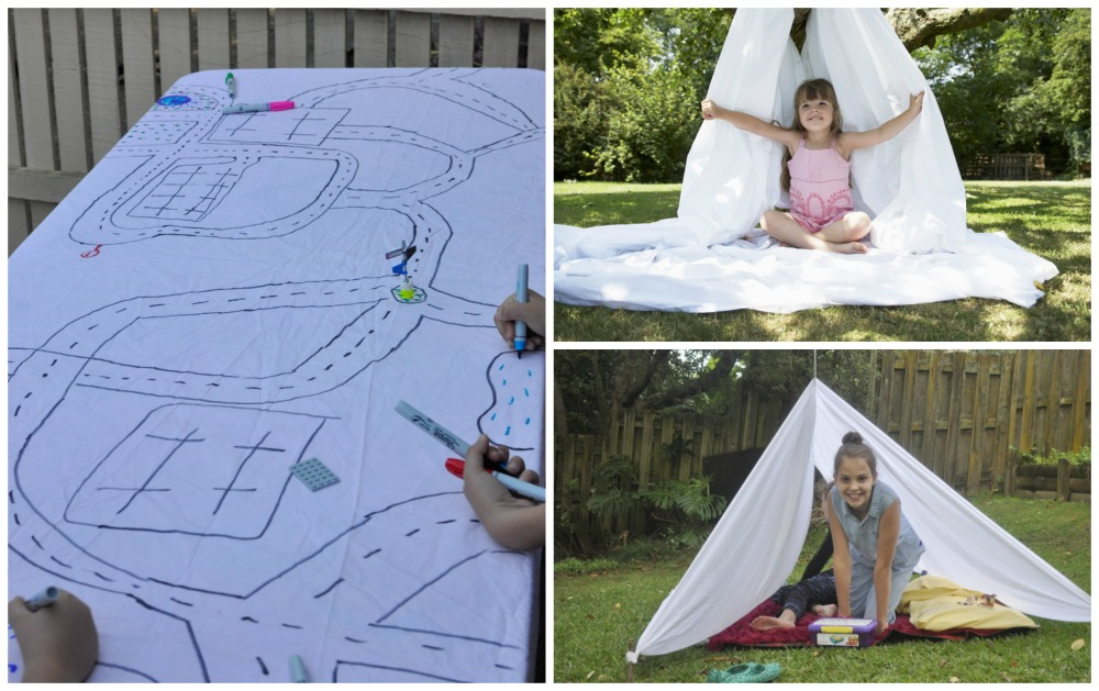 Fun things to do with a sheet