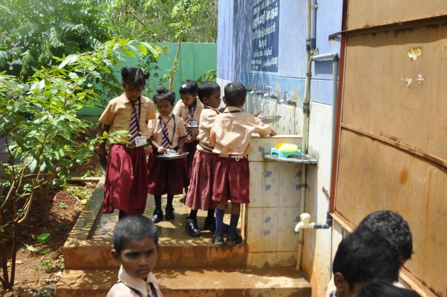 World Vision Projects - School Garden