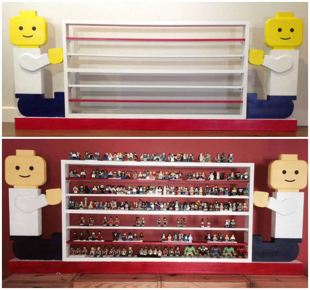 Lego Storage Shelves