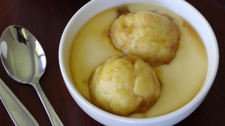Maple Syrup Dumplings Recipe