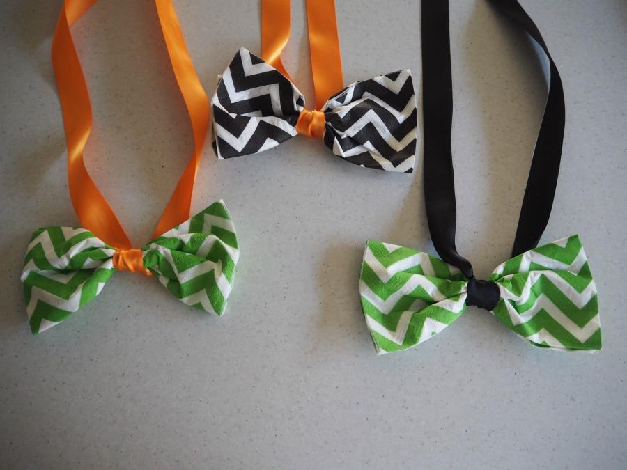 napkin bow ties