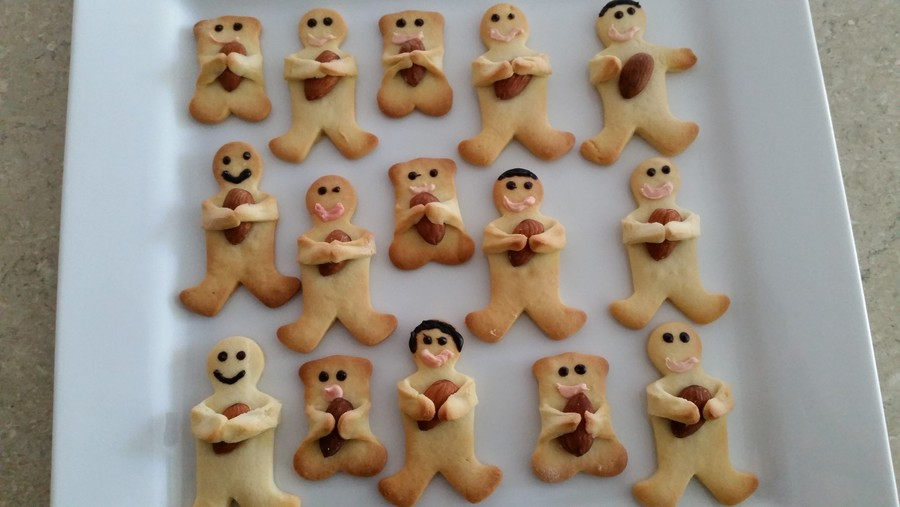 Footy Player Cookies