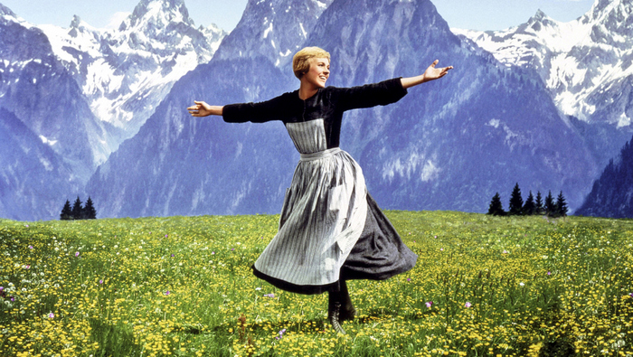 Sound of Music (1965)Julie AndrewsCredit: 20th Century Fox/Courtesy