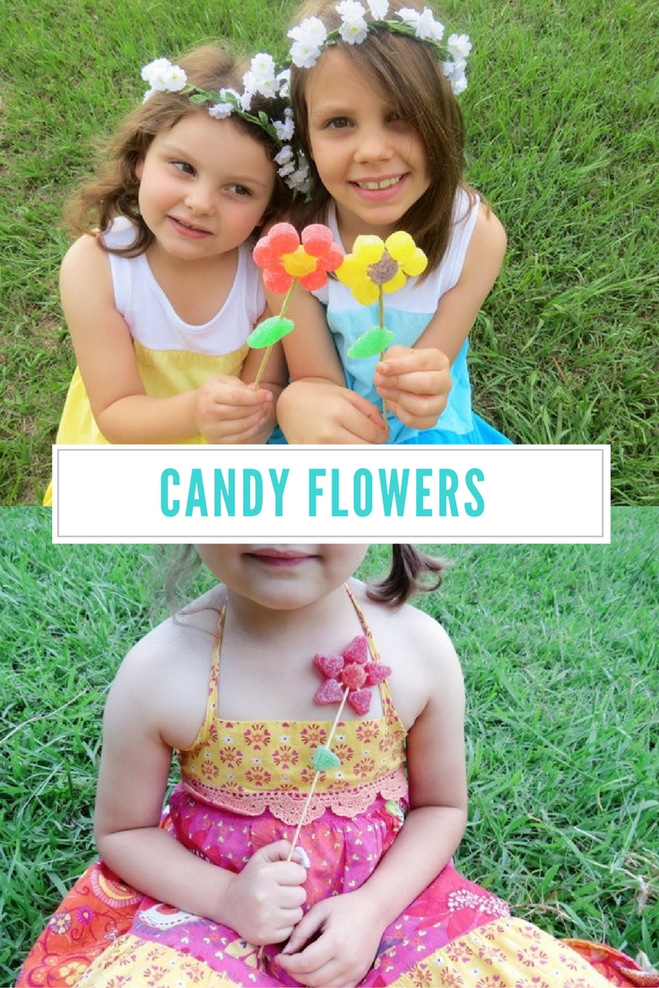 How to make Candy Flowers