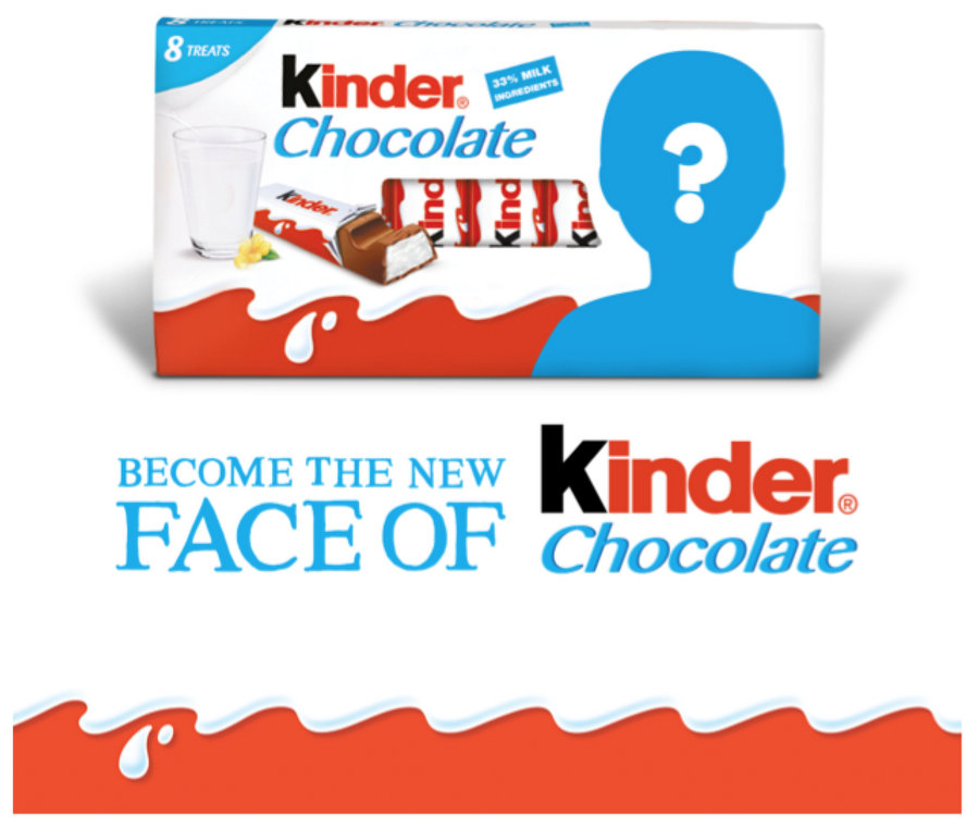 Face of Kinder Giveaway