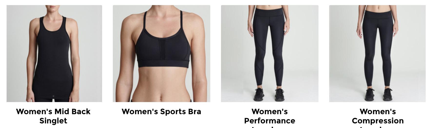 Customised sports wear