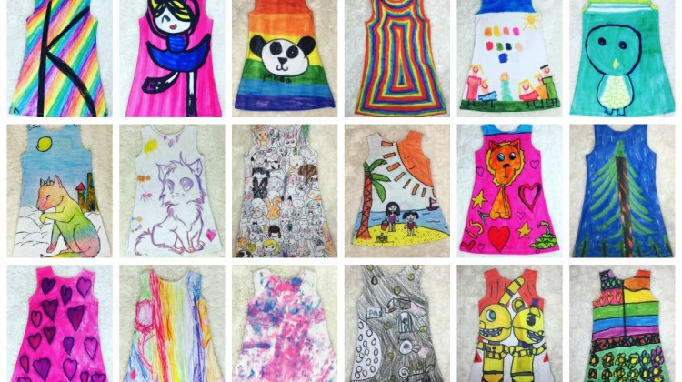 Turn Kids Drawings Into Clothes