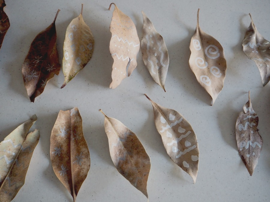leaf garland leaves