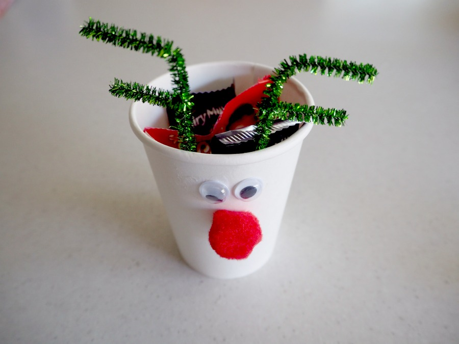 rudolph cup filled