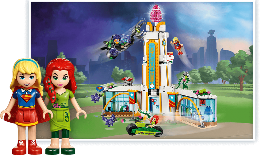 Girls Superhero Lego - Mini Figs