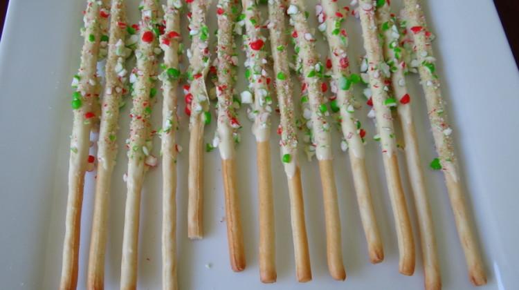 Christmas breadsticks