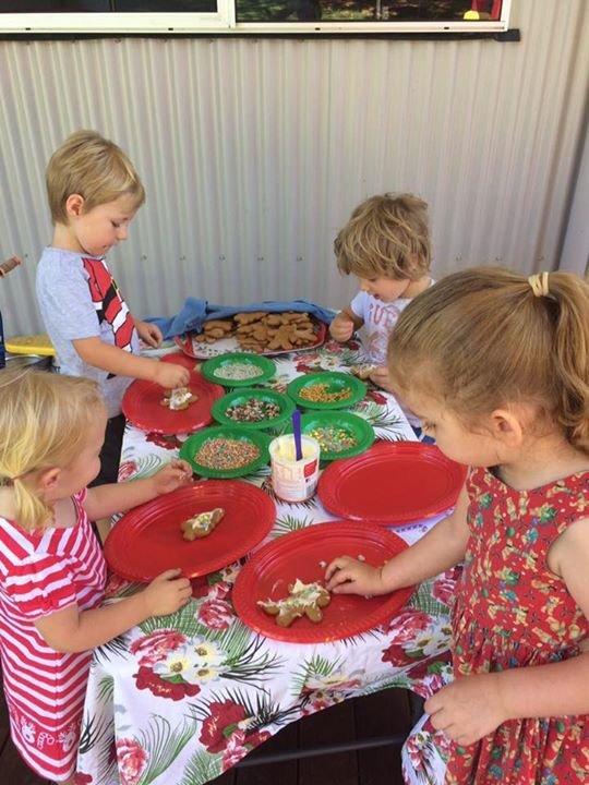 preschooler Christmas party