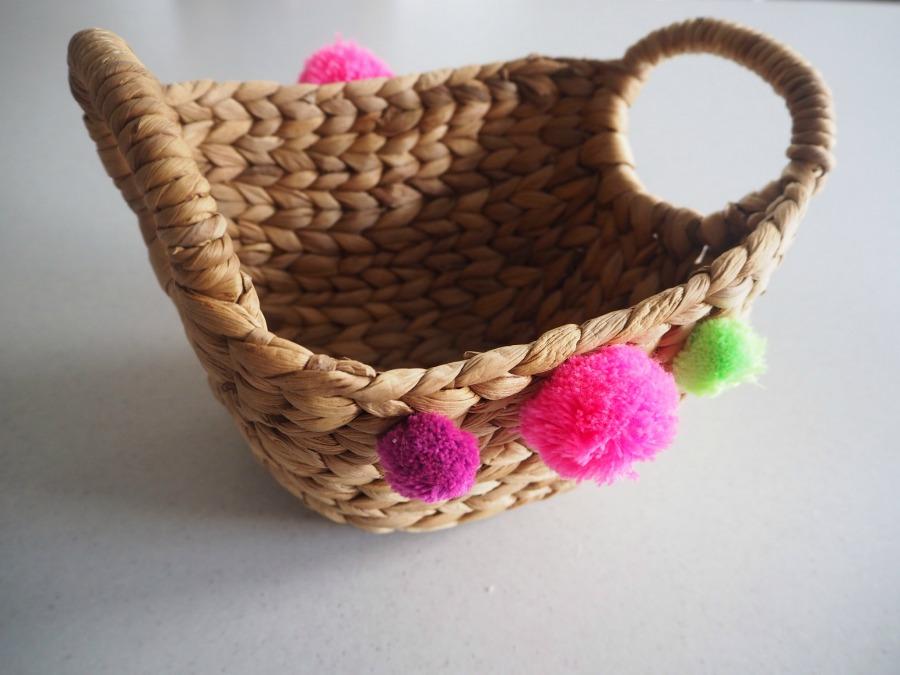 Pom Pom Basket