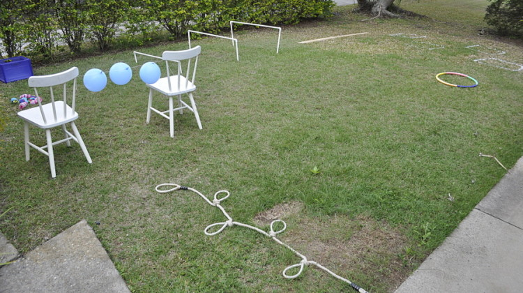 Backyard Obstacle Course Ideas