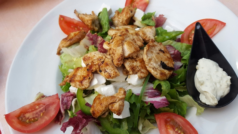 Chicken & Salad