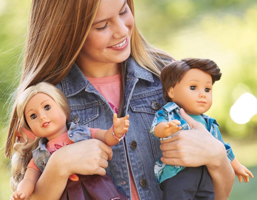 American Girl Doll - Terney Grant and Logan Everrett