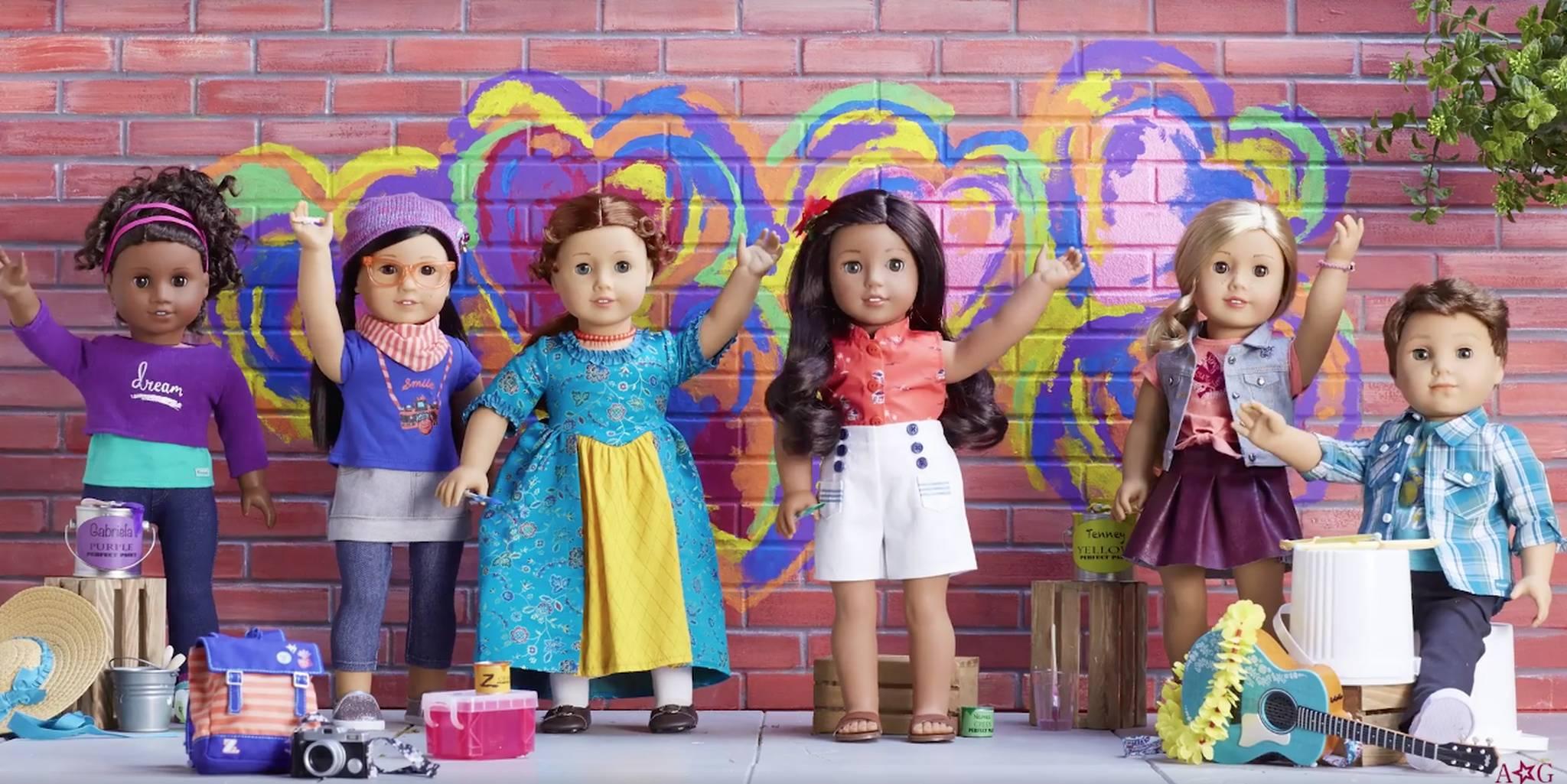 American Girl Dolls - Boy Doll Logan