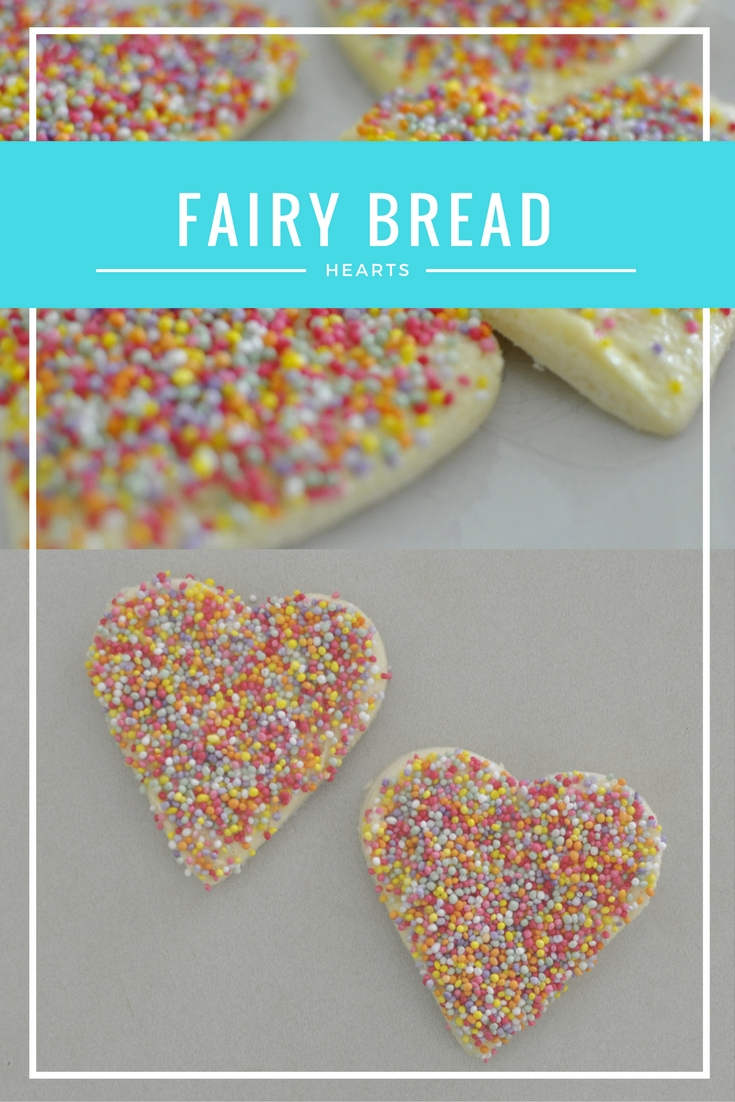 How to Make Fairy Bread (hearts)