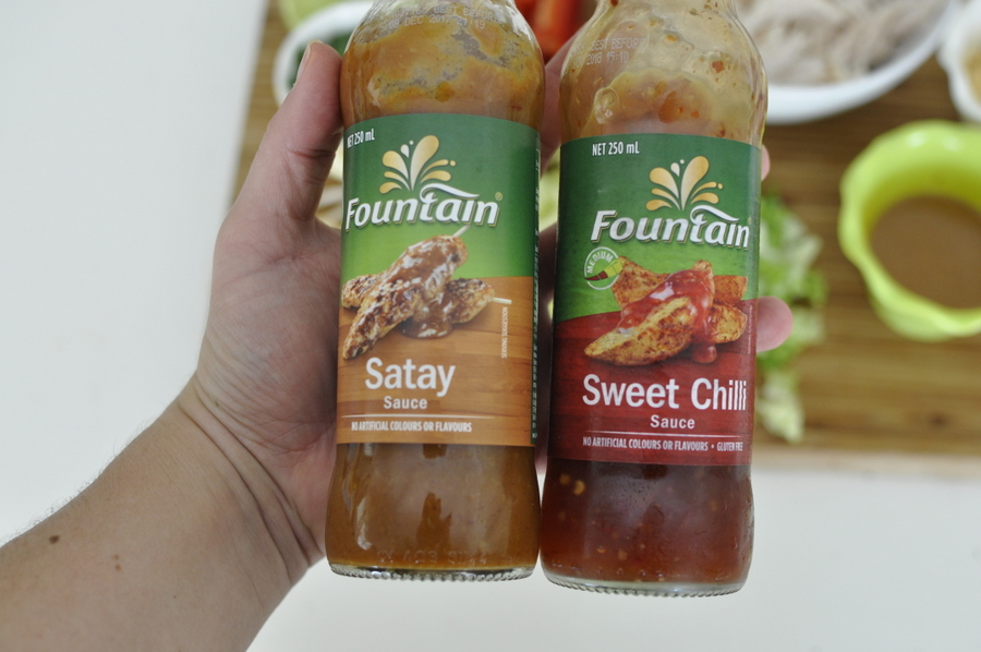 Fountain Sauces