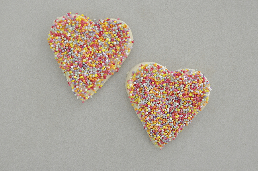 Fairy Bread Hearts