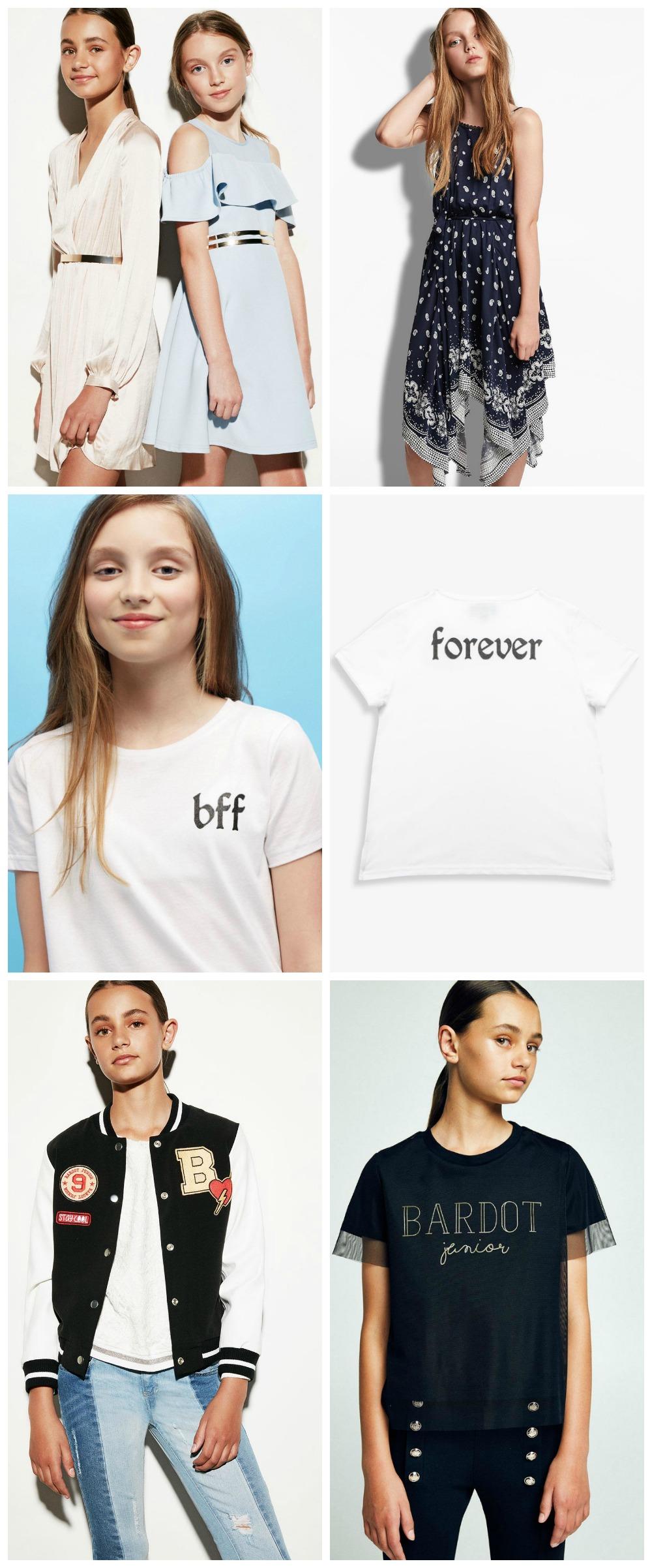 clothes for tweens bardot junior
