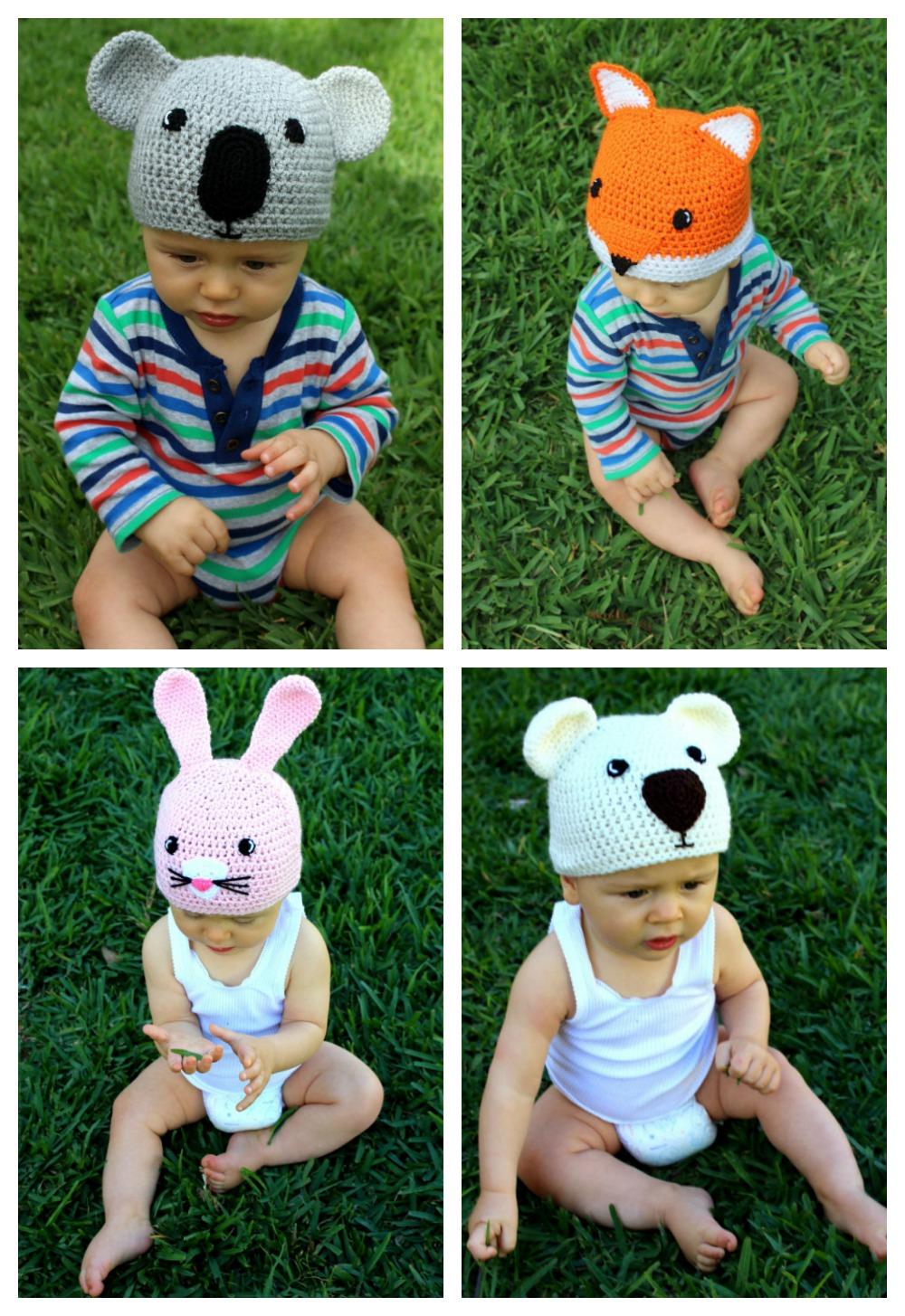 Cute baby beanies