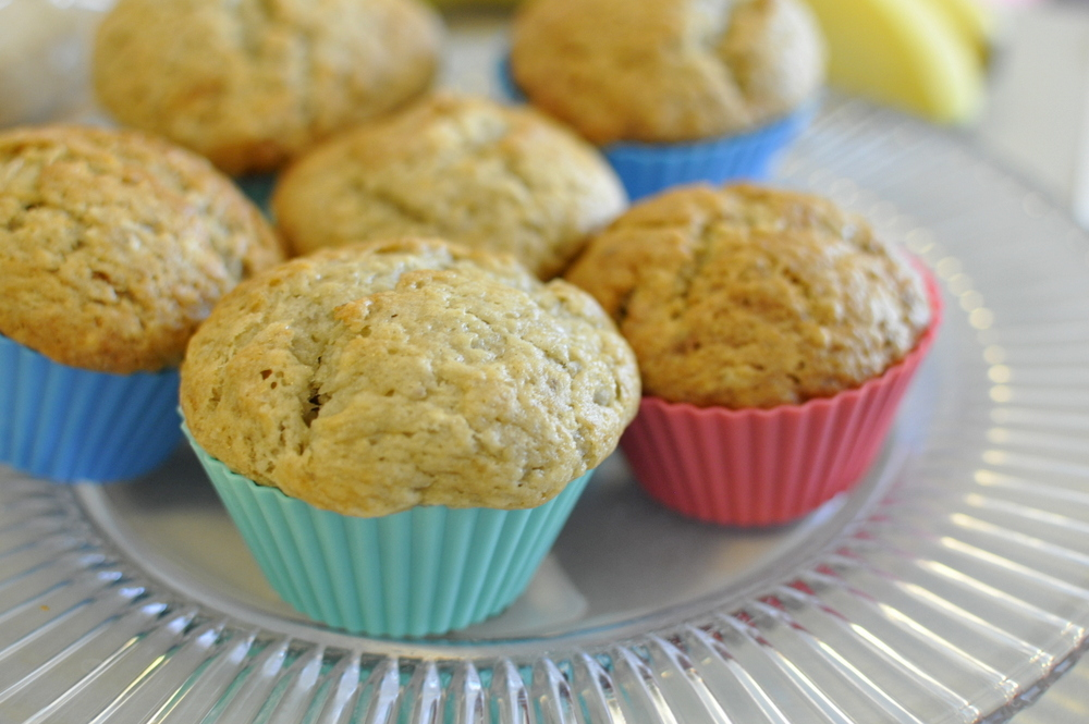 Banana Mayonaise Muffins recipe