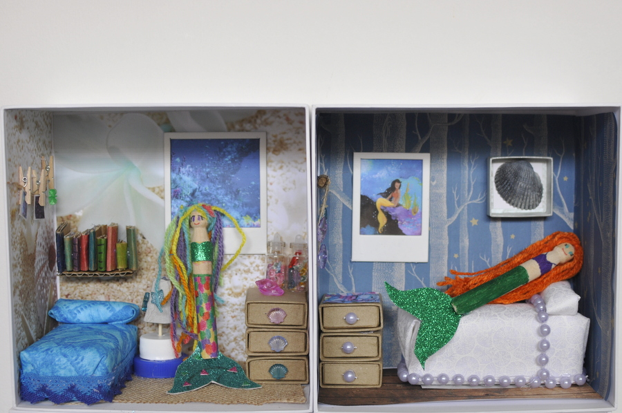 Mermaid Dollhouse