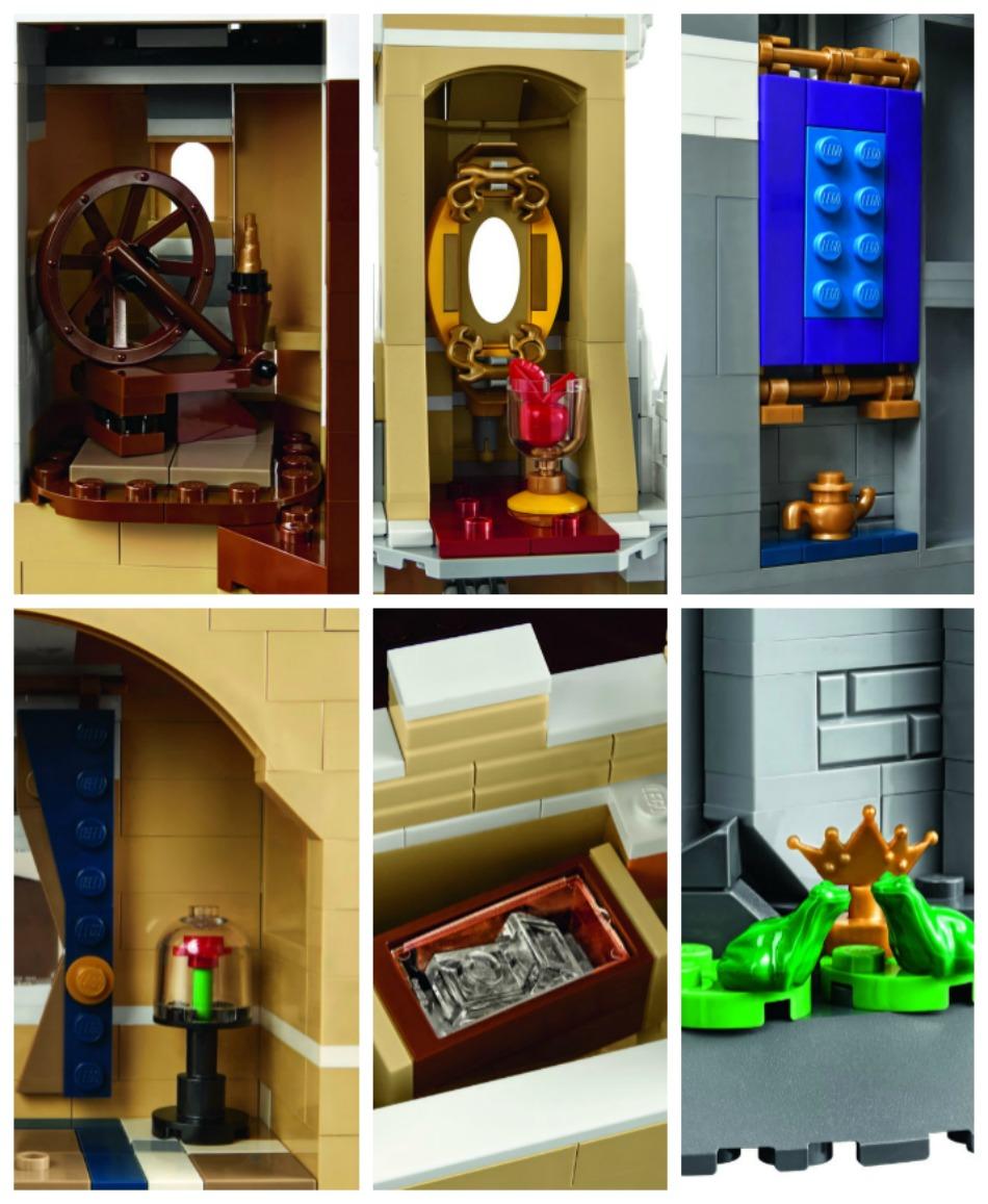 Disney Lego Castle Details