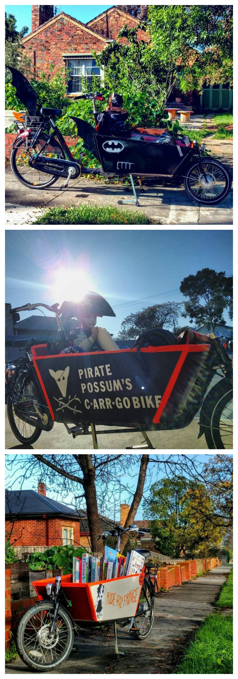 cargo bike fun Australia Victoria