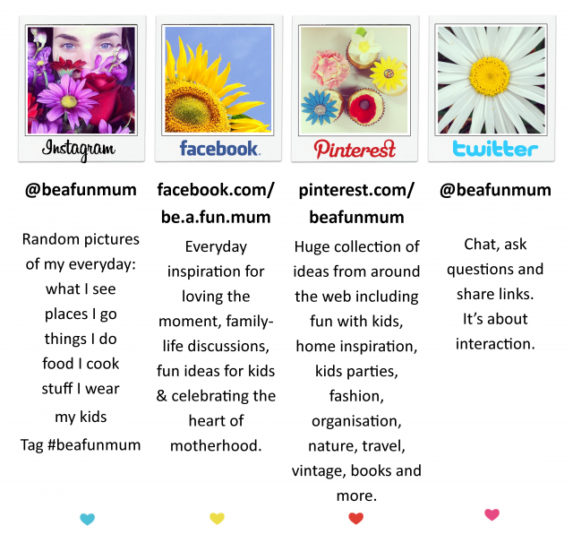 be a fun mum social media guide web