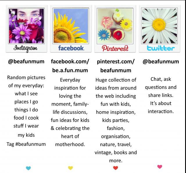 be a fun mum social media guide web