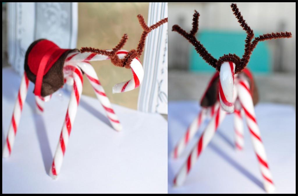 Candy Cane Reindeer - beafunmum.com